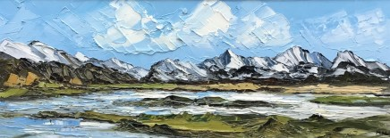 Martin Llewellyn, Snow covered Peaks, Snowdonia