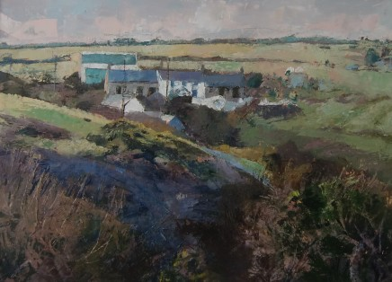 Anne Aspinall, Farm at Trefin