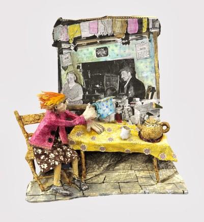 Luned Rhys Parri, Bwrdd y Gegin / Kitchen Table