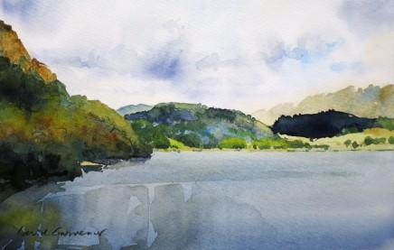David Grosvenor, Llyn Dinas