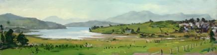 Matthew Wood, Moelwyn Bach and distant Moel Hebog from Trawsfynydd