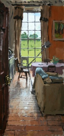 Matthew Wood, View through the Kitchen, Delbury Hall