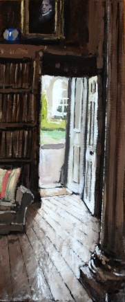 Matthew Wood, View from the Library looking through the Secret Door, Weston Park