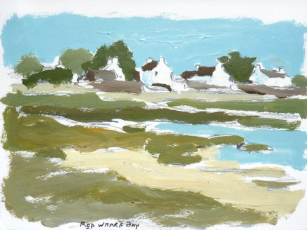 Donald McIntyre, Blue Sky, Red Wharf Bay