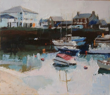 Anne Aspinall, Across the Harbour, Porthmadog II