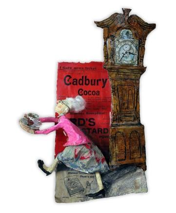 Luned Rhys Parri, Coco Cadbury a Chloc Mawr / Cadbury's Cocoa and Grandfather Clock