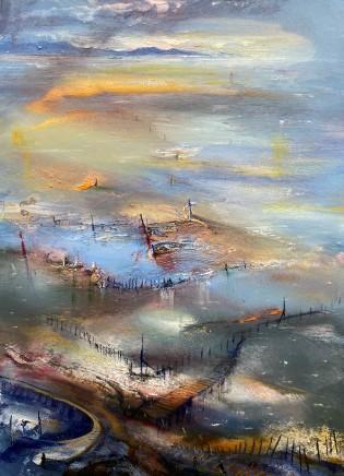 Iwan Gwyn Parry, Anglesey, dawn reflections