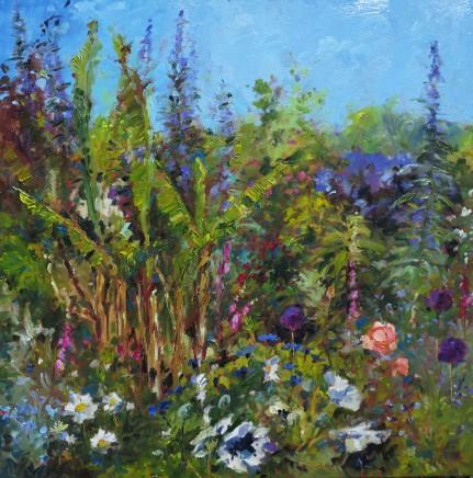 David Grosvenor, Garden Border with Echiums