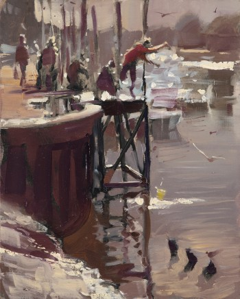 Rob Pointon, Crabbing at the Quay