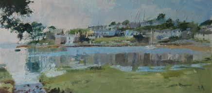 Anne Aspinall, Borth y Gest, Blue and Green