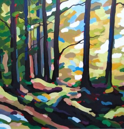 Stephen John Owen, Sunlit Trees