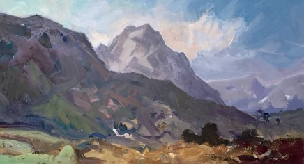 Gareth Thomas, View of Tryfan