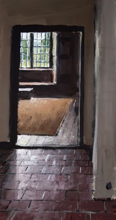 Matthew Wood, Rodd House. View to the Bedroom