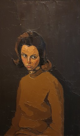Kyffin Williams, Portrait of Dorothy Anne McLaren, 1968