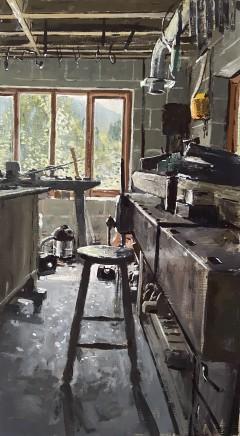 Matthew Wood, Workshop in Herefordshire