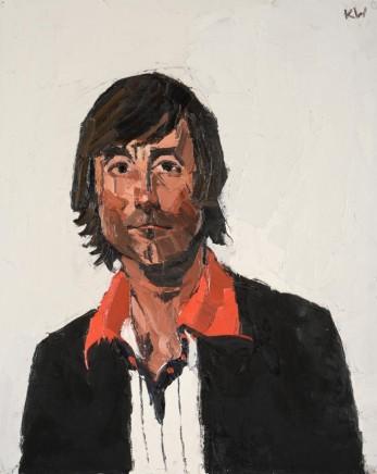 Kyffin Williams, Portrait of Mr Morrison, c1970s