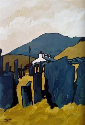 Stephen John Owen, Slate Fence, Deiniolen