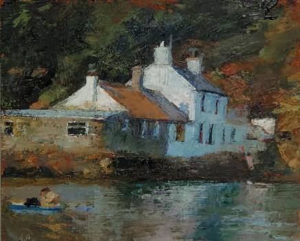 Anne Aspinall, Porthdinllaen, Summer's Day