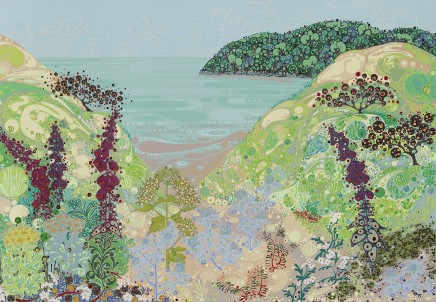 Katie Allen, Towards Oxwich Point