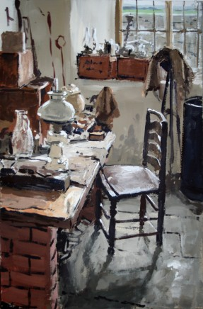 Matthew Wood, The Judge's Lodging - Chair in the Lamp Room