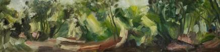 Elaine Preece Stanley, Pathway, Summer Woods II
