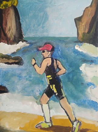 Emrys Williams, Runner by the Sea