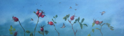 Kim Dewsbury, Rosehips and Fieldfares