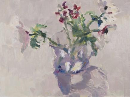 Lynne Cartlidge, Anemones & Wall Flowers III