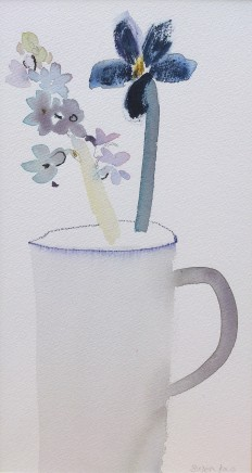 Susan Kane, Hyacinth in Grey Jug