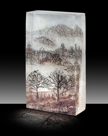 Kate Pasvol, Trees in the Mist (Small)