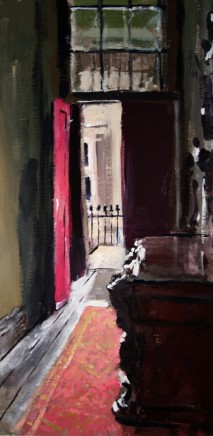 Matthew Wood, Corridor with Red Door