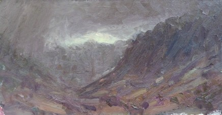 David Lloyd Griffith, Rain moving into Dyffryn Ogwen