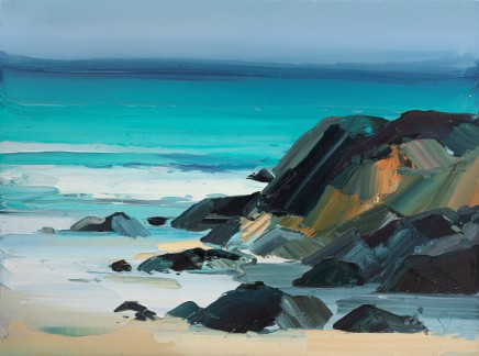 Sarah Carvell, Azure Sea, Lapping Tide