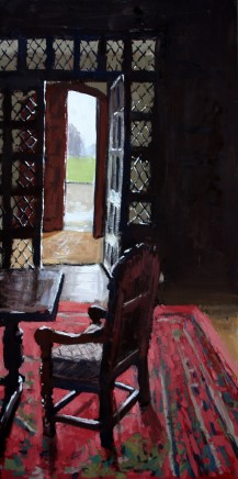 Matthew Wood, View through the Porch from the Front Hall