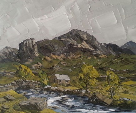Martin Llewellyn, Cottage, Llanberis Pass