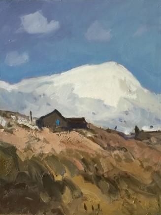 Gareth Thomas, Early Snow, near Carnedd Llewelyn