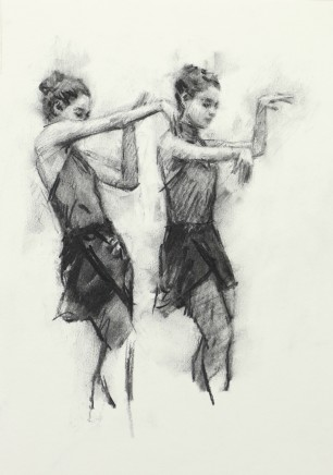 Carl Chapple, 'Juliet' - Danila Marzilli rehearsing Romeo & Juliet (Ballet Cymru Rehearsal 161)