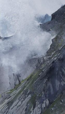 Malcolm Edwards, Glaciated Rock, Mynydd Perfydd