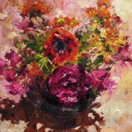 David Grosvenor, Mixed Garden Flowers I
