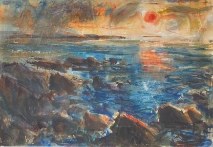Gareth Parry, Machlud, Pen Llŷn / Sunset, Llŷn