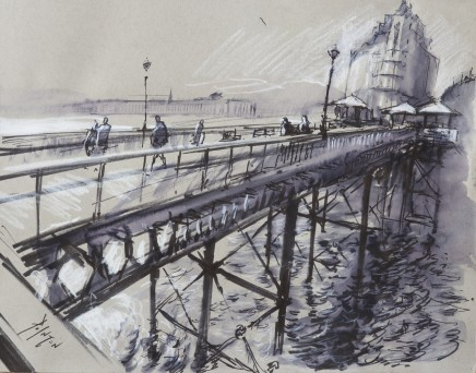 Rob Pointon, Sunny Day on the Pier