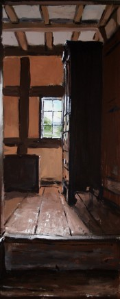 Matthew Wood, Cwmmau Farmhouse - View from the Backstairs