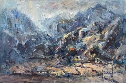 Gareth Parry, Bore yn y Mynyddoedd (Eryri) / Morning in the Mountains (Snowdonia)