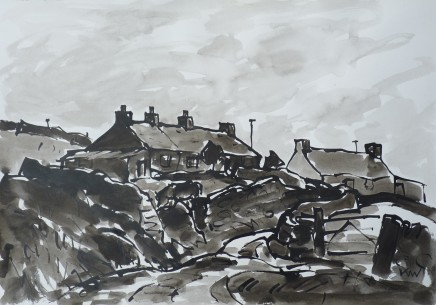 Kyffin Williams, Anglesey Cottages
