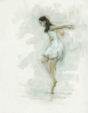 Carl Chapple, 'Juliet' - Maria Brunello rehearsing Romeo & Juliet (Ballet Cyrmu Rehearsal 172)