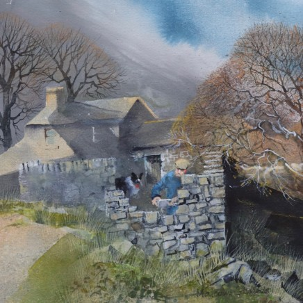 Malcolm Edwards, Walling Repairs