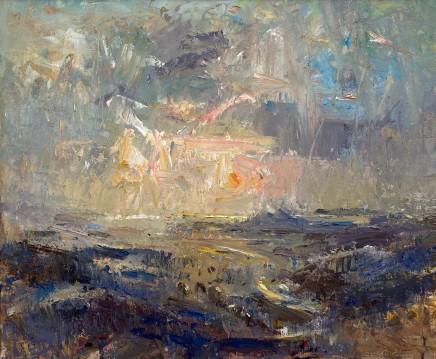 Gareth Parry, O'r Mynydd i'r Môr, Machlud, Dyffryn Maentwrog I / From the Hills to the Sea, Sunset, Vale of Ffestiniog I