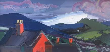 Sarah Carvell, Late Light on Red Brick, November