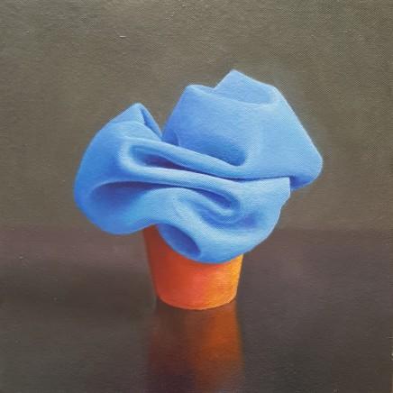 James Guy Eccleston, Blue Cloth Pot