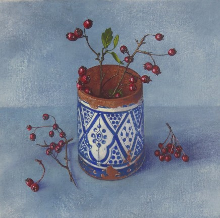 Kim Dewsbury, Haws in a Moroccan Pot